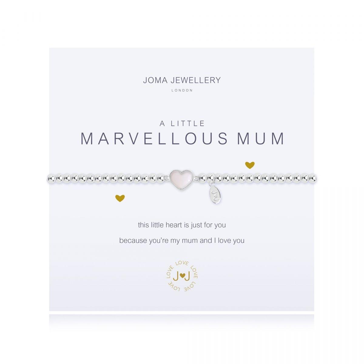 Joma Jewellery A Little 'Marvellous Mum' Bracelet