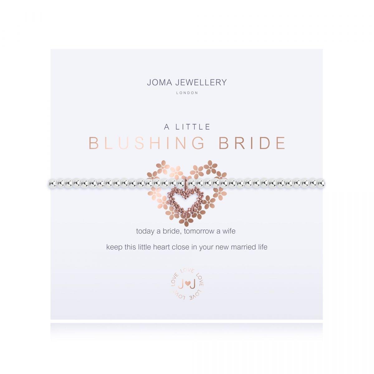 Joma Jewellery A Little 'Blushing Bride' Bracelet