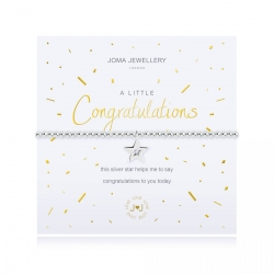 Joma Jewellery A Little 'Congratulations' Bracelet