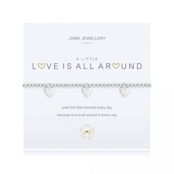 Joma Jewellery A Little 'Love Is All Around' Bracelet