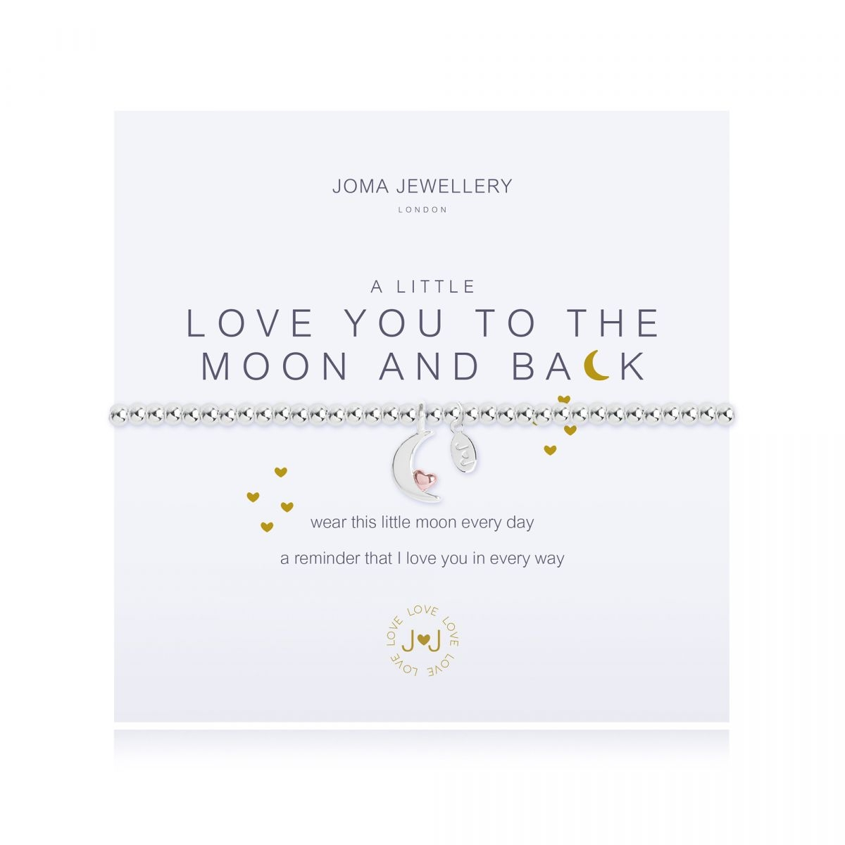Joma Jewellery A Little 'Love You to the Moon and Back' Bracelet