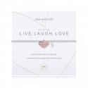Joma Jewellery A Little 'Live, Laugh, Love' Bracelet