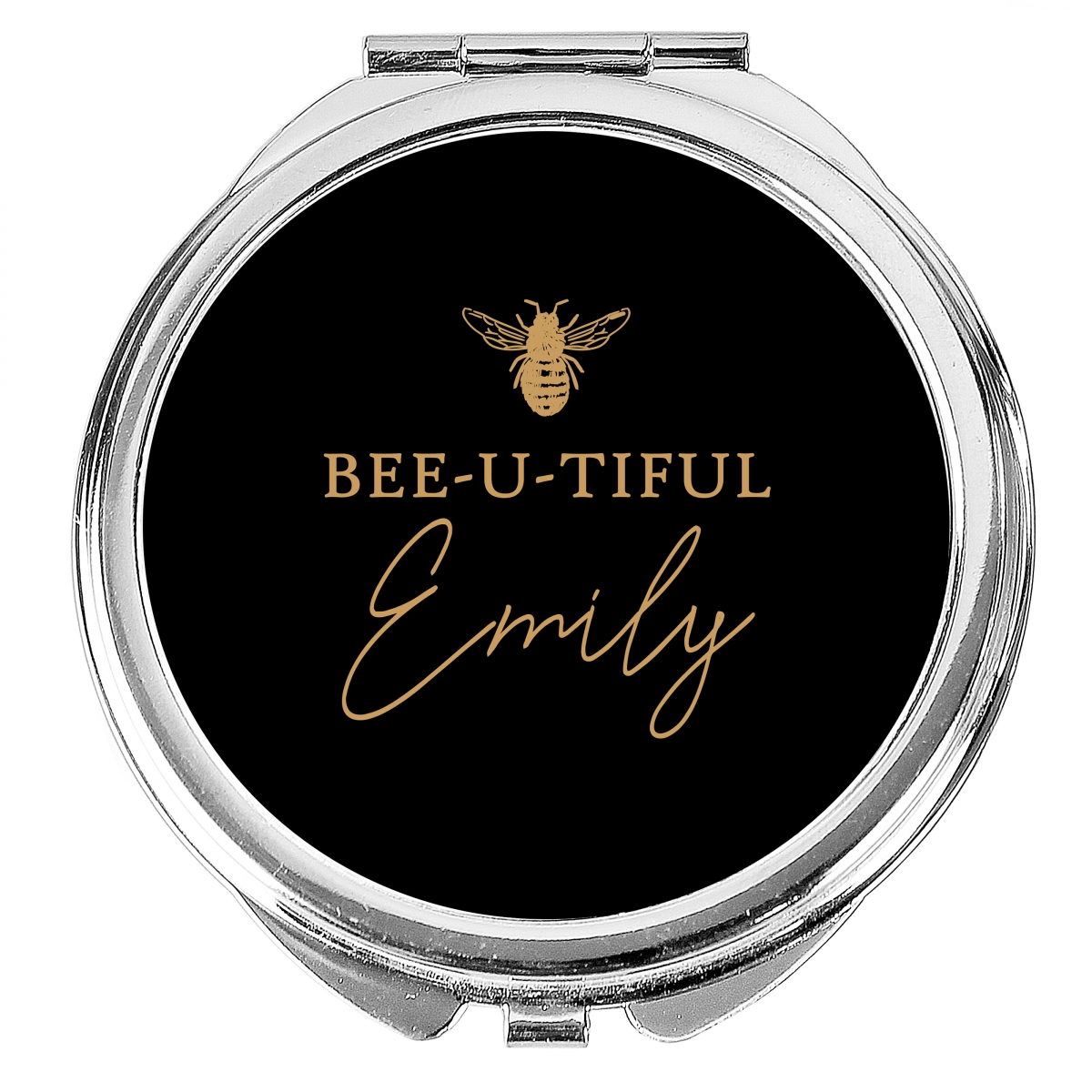Personalised Bee-u-tiful Compact Mirror
