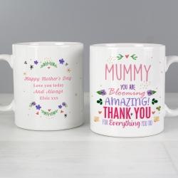 Personalised You Are Blooming Amazing Mug